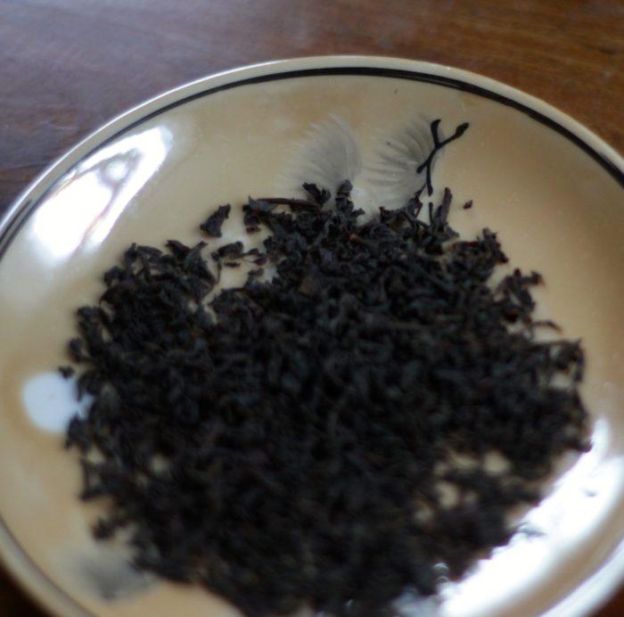 Earl Grey blad på ett fat - Ekologiskt svart te