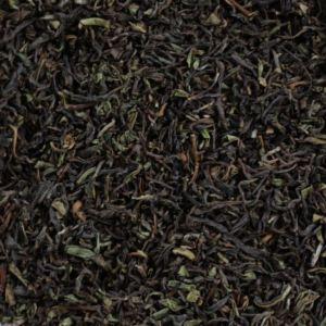 Svart te utan smaksättning