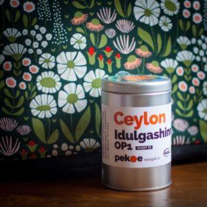 Ceylon Idulgashinna och tehuva