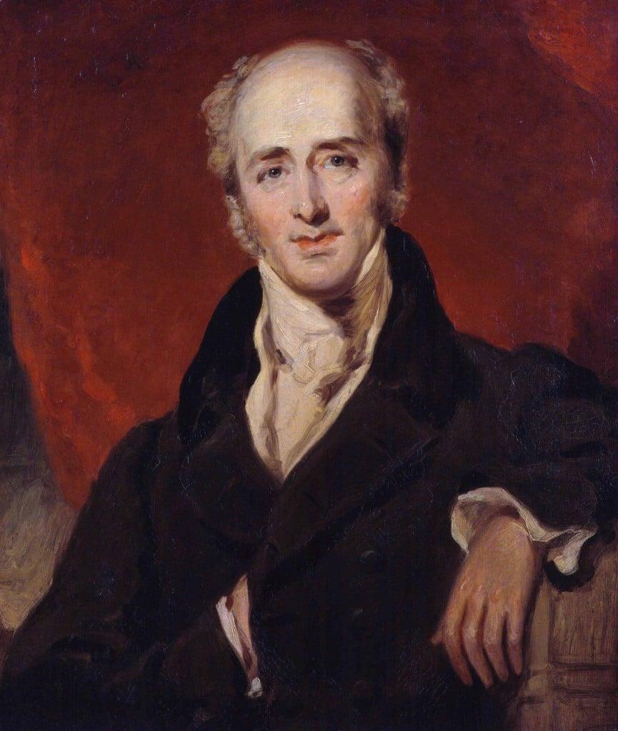 Porträtt av Charles Grey, 2nd Earl Grey, oljemålning av Sir Thomas_Lawrence