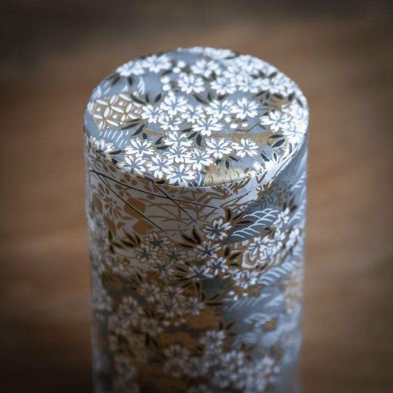 japansk teburk silvergra liten 2