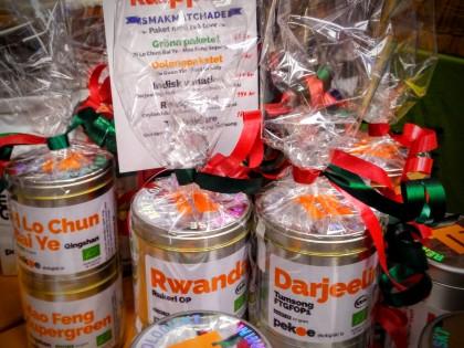 Julmarknader med ekologiskt te 2016