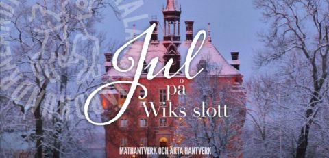 Julmarknad Wiks slott Fjärdhundraland