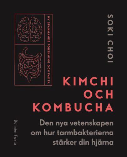 Kimchi och Kombucha - omslag på bok om Kombucha