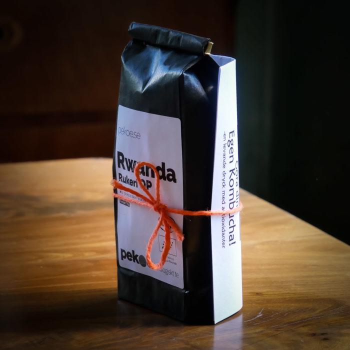 Kombuchapaket bas - 100 gram ekologiskt te och presentkort på Scoby