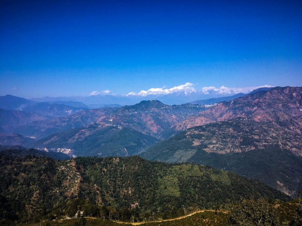 Utsikt över Kanchenjunga