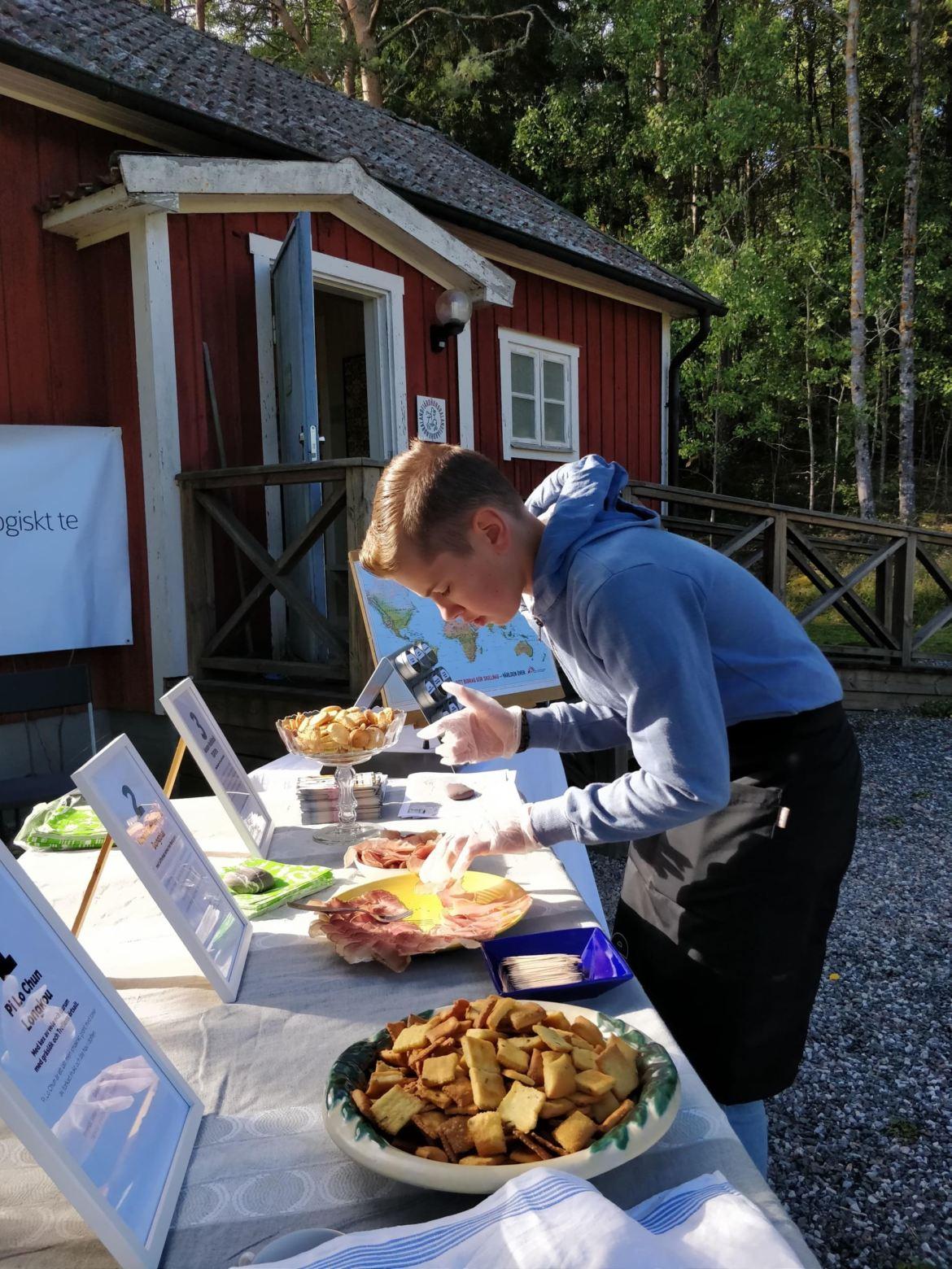 Mat & människor servering