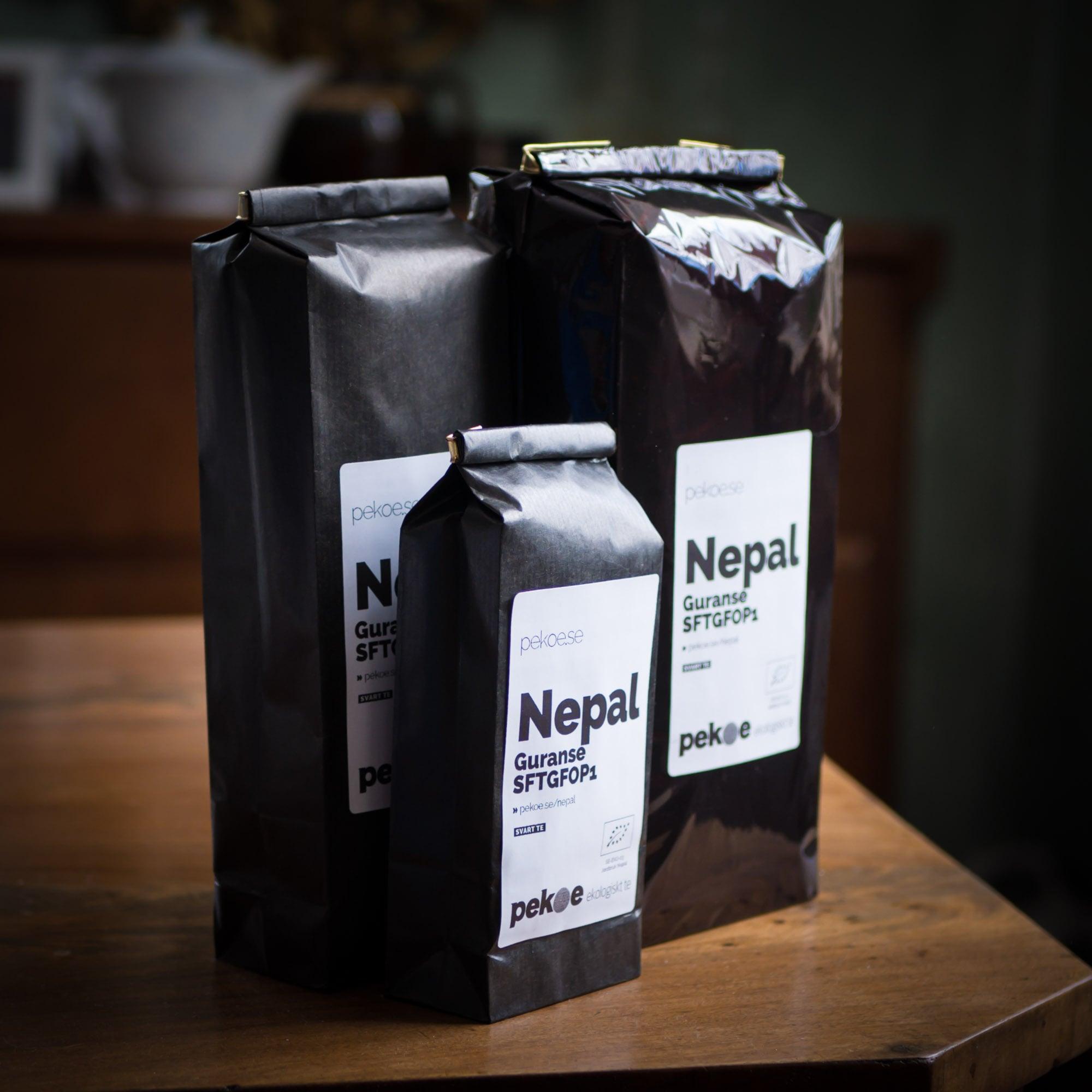 ekologiskt te från Nepal