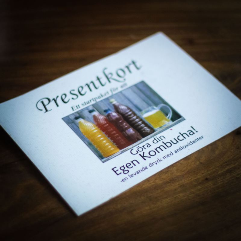 Presentkort Kombucha