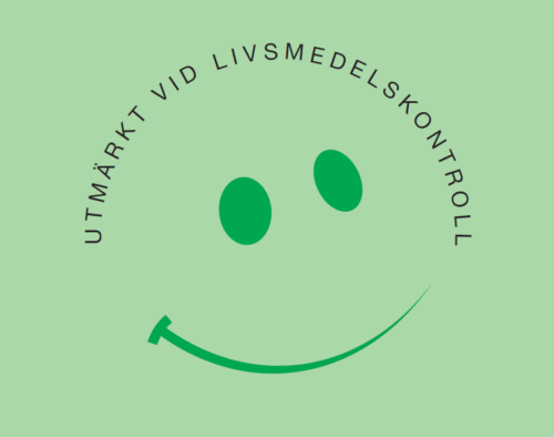 Smiley – symbol för utmärkt hantering av livsmedel och god hygien