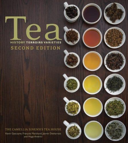 Bild på framsidan av boken Tea – History Terroirs Varieties