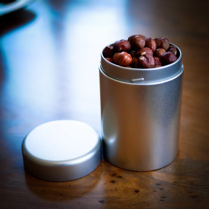 Burk Eigenart Silver Edition round med nötter i