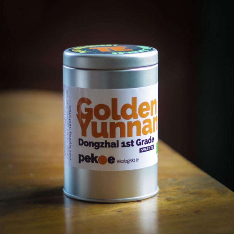 teburk golden yunnan svart te