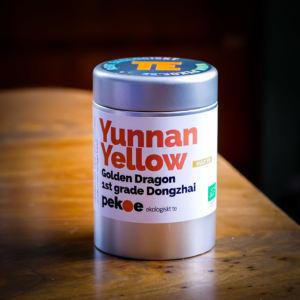 ekologiskt gult te