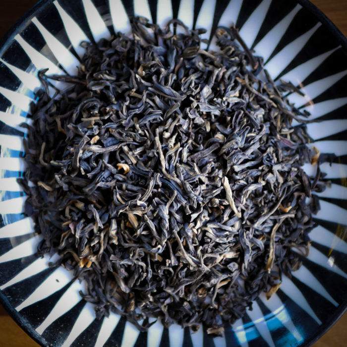 Ekologiskt odlade teblad